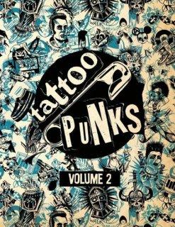 TATTOO PUNKS VOLUME 2 パンク タトゥーデザイン本