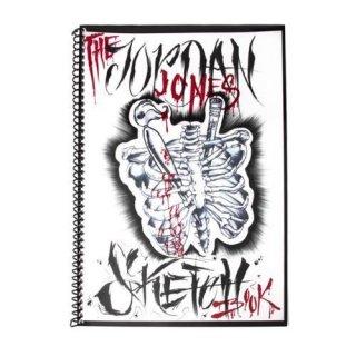 Jordan Jones スケッチブック タトゥーデザイン本