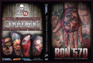 Ron Russo タトゥーチュートリアル DVD