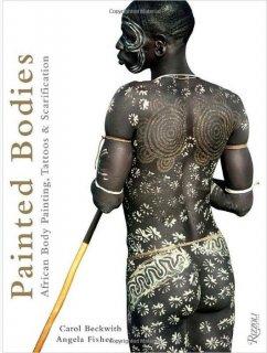 ペインテッド・ボディ アフリカのボディペイント タトゥー ハードカバー本