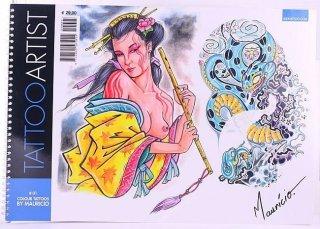 タトゥーアーティスト マウリシオ #1 タトゥーデザイン本