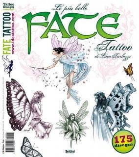 ルカ・タルラッツィ 妖精のタトゥーコレクション デザイン本