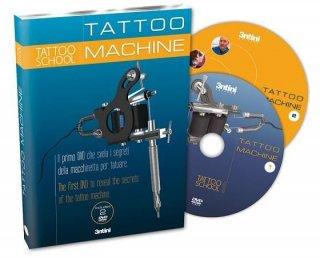 タトゥースクール メーカーとアーティストによるタトゥーマシーンの仕組みとデモンストレーション DVD 2枚組