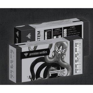 全てのサイズ選択可能 Precision製  プリメイド タトゥーニードル 針  50本ボックス