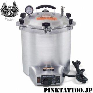タトゥー&ピアッシングスタジオに必須 ALL AMERICAN 社製 50X 電気式 オートクレーブ 高圧蒸気滅菌器