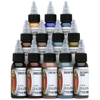 ETERNAL INK エターナルインク タトゥーインク ゾンビカラー 12色セット