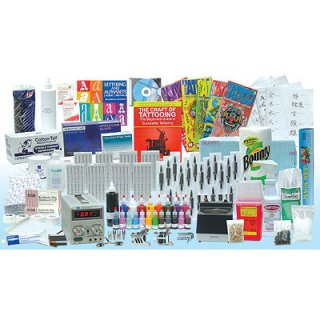 UNIMAX社 アメリカ製  開業&独立 必要なものは全て揃う! タトゥーコンプリートキット # 28103