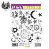 イタリア直輸入 月&恒星 500種以上 タトゥーデザイン本