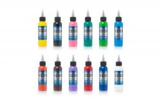 FUSION INK フュージョンインク サンプル 最重要カラー 12色セット