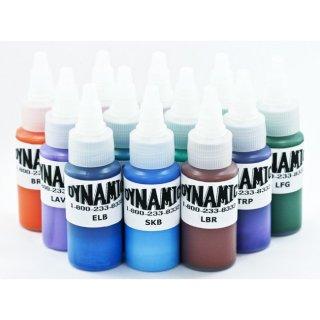 DYNAMIC ダイナミック タトゥーインク ブレンド 混合カラー 12色セット