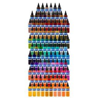 INTENZE インテンツ タトゥーインク 全カラー101色 コンプリートセット