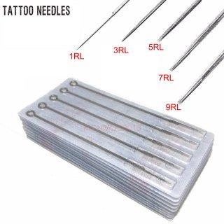 全てのサイズ選択可能 Precision製  プリメイド タトゥーニードル 針  5本セット