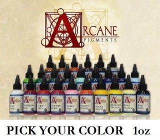 ARCANE Tattoo Ink アルカンタトゥーインク カラー単品選択 1oz(29ml)