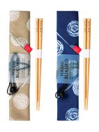 【箸袋セット】ドット -わっぱ弁当シリーズ