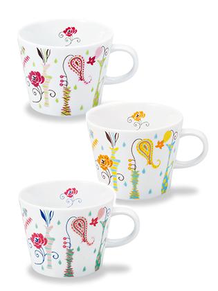 【マグカップ】 花瓶