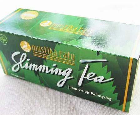 [インドネシア王宮御用達]ムスティカラトゥのジャムウ ダイエット茶のスリミングティー(30pc)