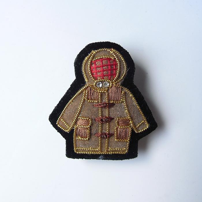 Fil D'araignee 刺繍ピンバッジ 2