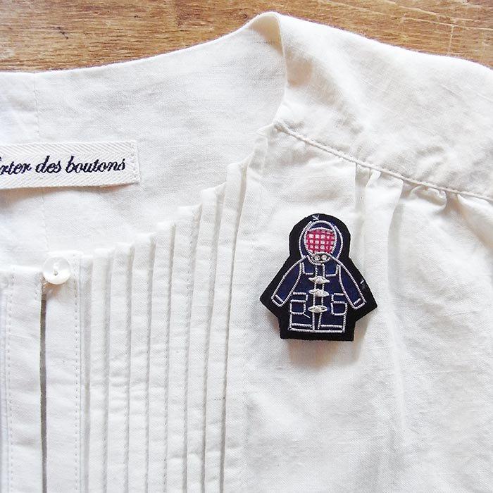 Fil D'araignee 刺繍ピンバッジ 4