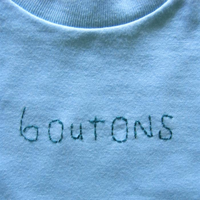 boutons Tシャツ kids 2