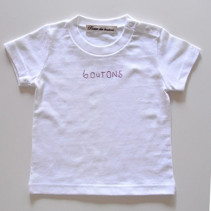 boutons Tシャツ kids 3