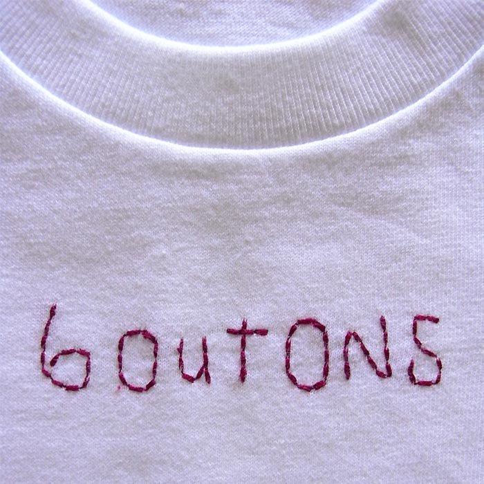 boutons Tシャツ kids 4