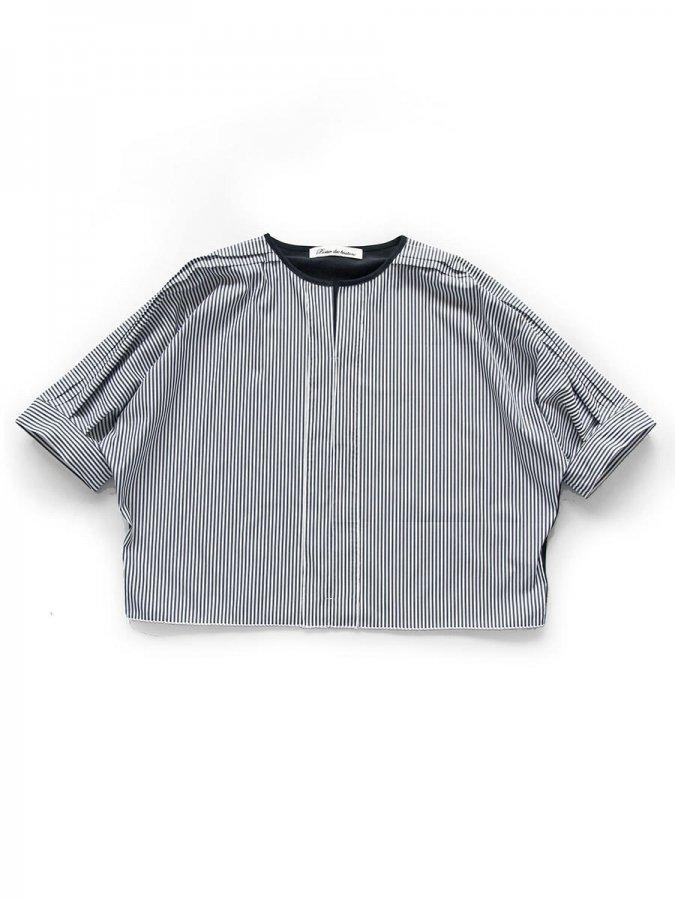 ストライプドルマンプルオーバー Dolman sleeve pullover 1