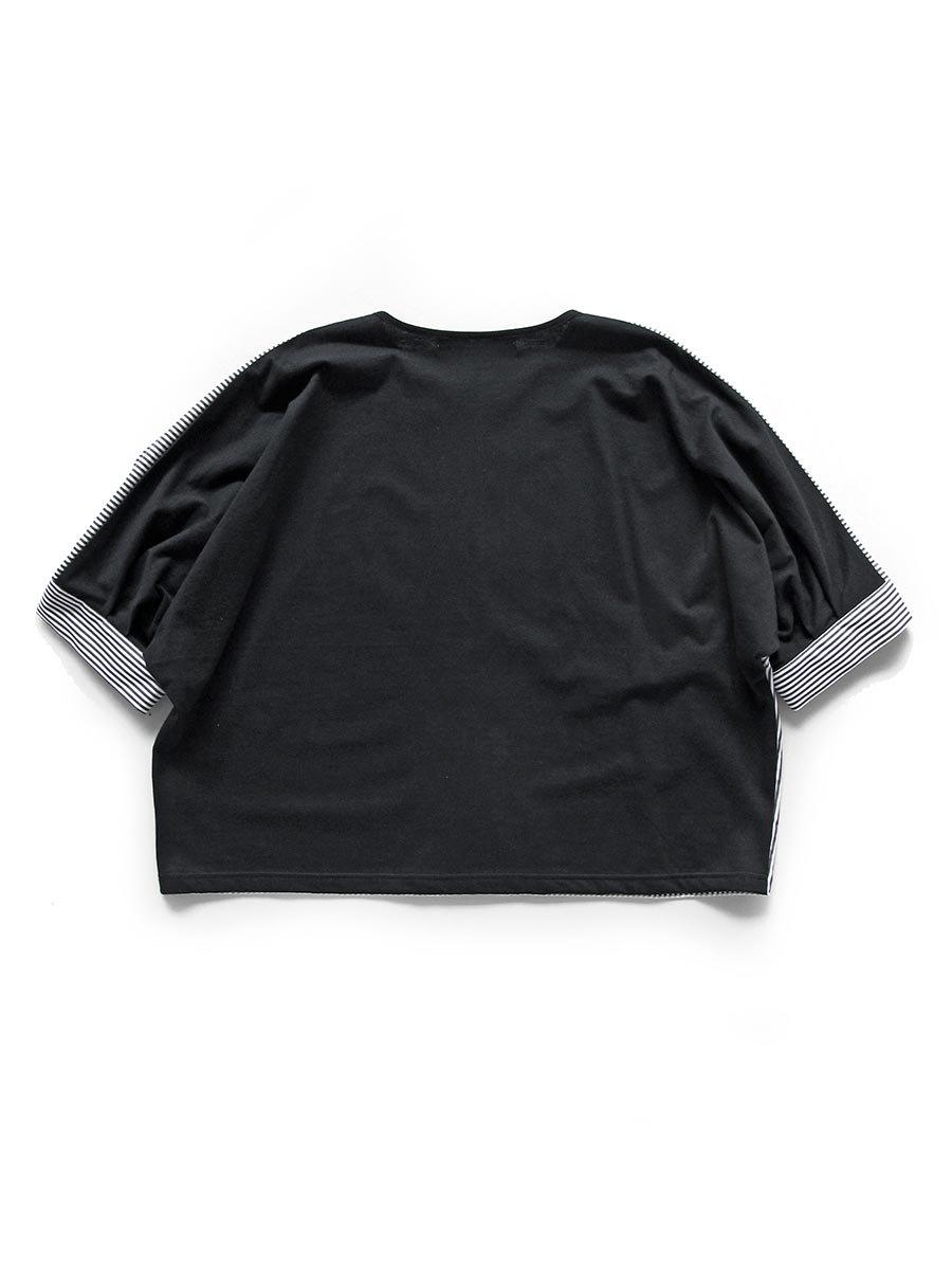 ストライプドルマンプルオーバー Dolman sleeve pullover 2