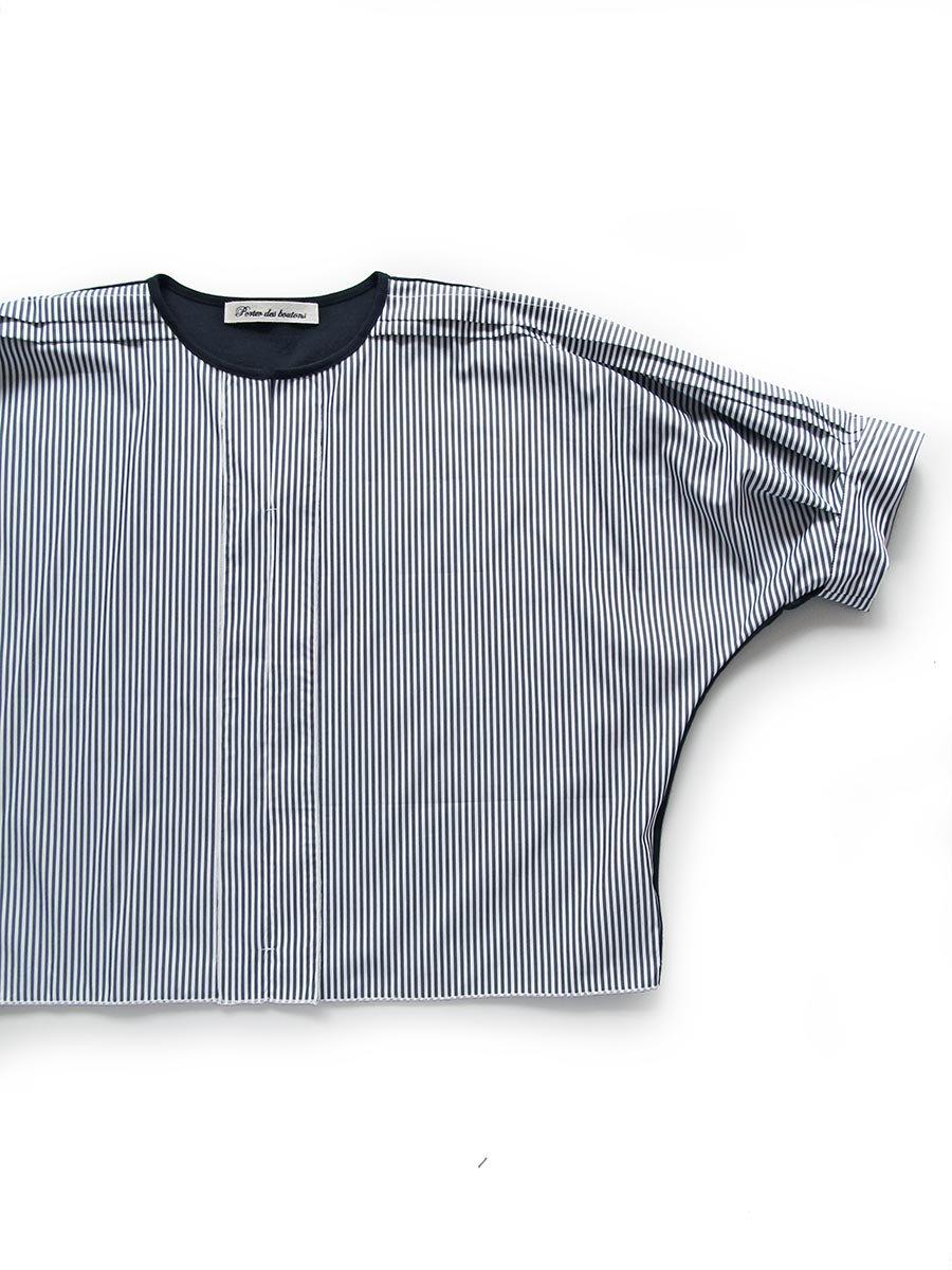 ストライプドルマンプルオーバー Dolman sleeve pullover 3