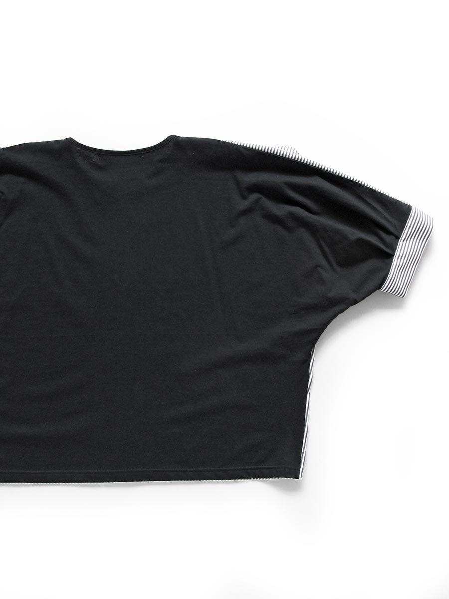 ストライプドルマンプルオーバー Dolman sleeve pullover 4
