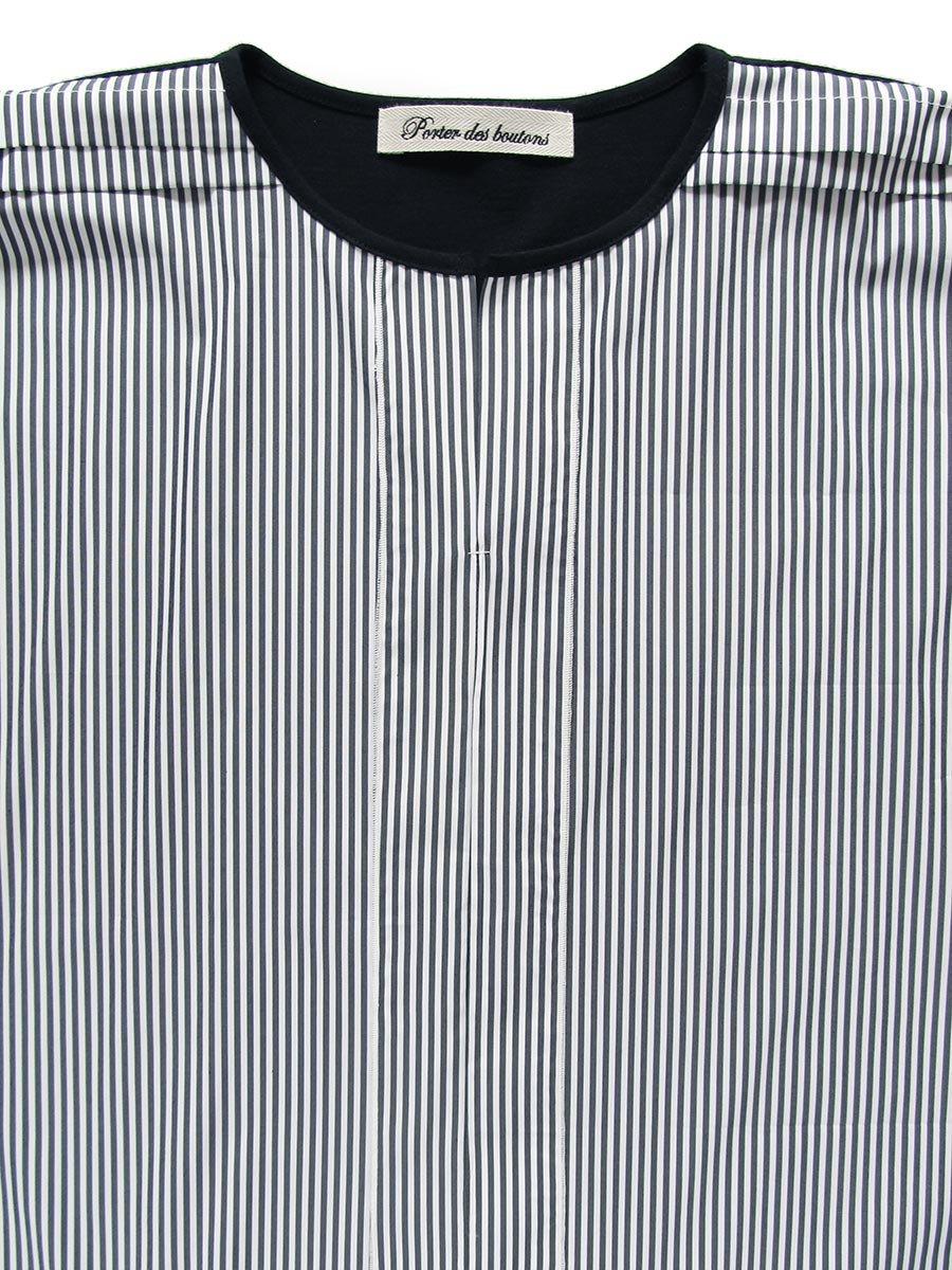ストライプドルマンプルオーバー Dolman sleeve pullover 5