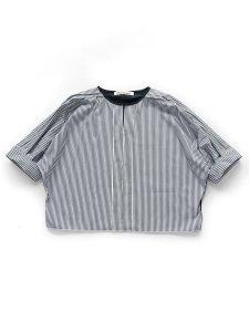 ストライプドルマンプルオーバー Dolman sleeve pullover