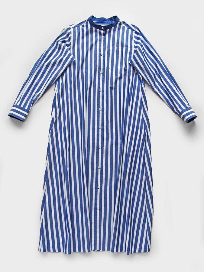 <img class='new_mark_img1' src='https://img.shop-pro.jp/img/new/icons16.gif' style='border:none;display:inline;margin:0px;padding:0px;width:auto;' />フレアシャツドレス Shirtdress 2