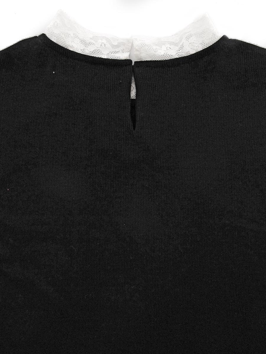 レース衿5分袖プルオーバー 16