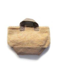 ウールボアトートバッグ