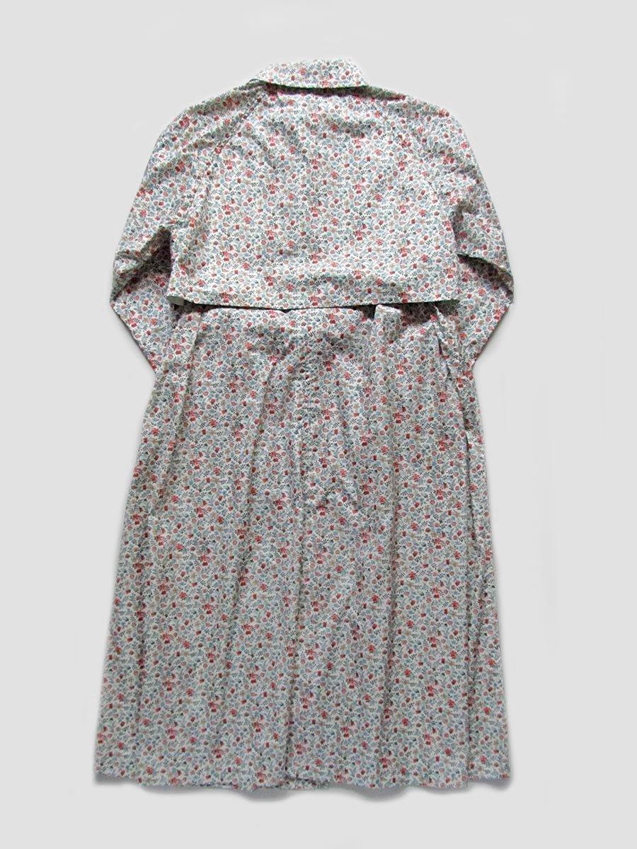 LIBERTY PRINTフーデッドトレンチ(2020 Spring Collection) 2
