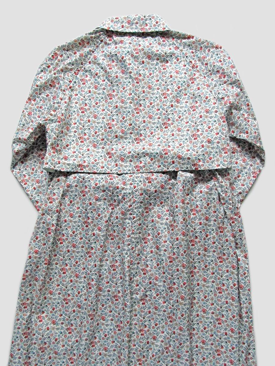 LIBERTY PRINTフーデッドトレンチ(2020 Spring Collection) 12