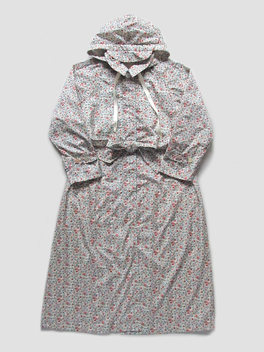 LIBERTY PRINTフーデッドトレンチ(2020 Spring Collection) 10
