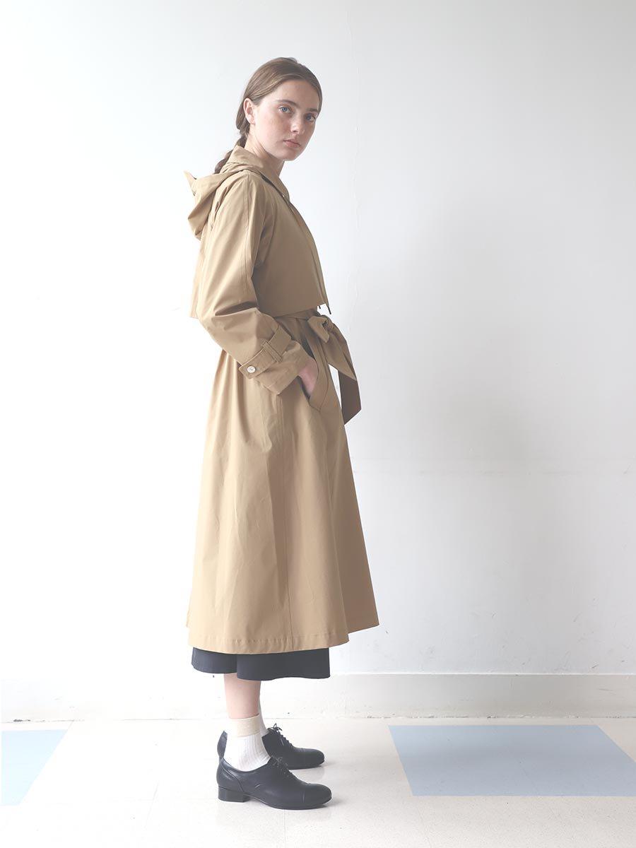フーデッドトレンチ(2020 Spring Collection) 2
