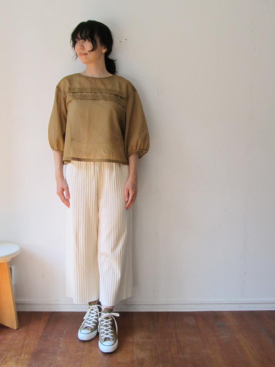 シアーブラウス(2020 Spring Collection) 10