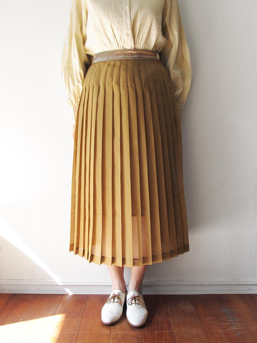 シアープリーツスカート(2020 Spring Collection) 13
