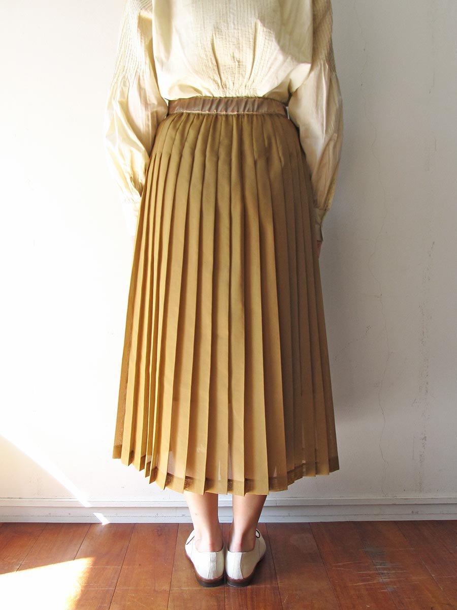 シアープリーツスカート(2020 Spring Collection) 15