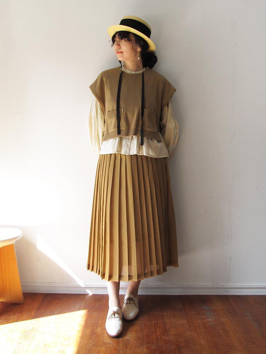 シアープリーツスカート(2020 Spring Collection) 17