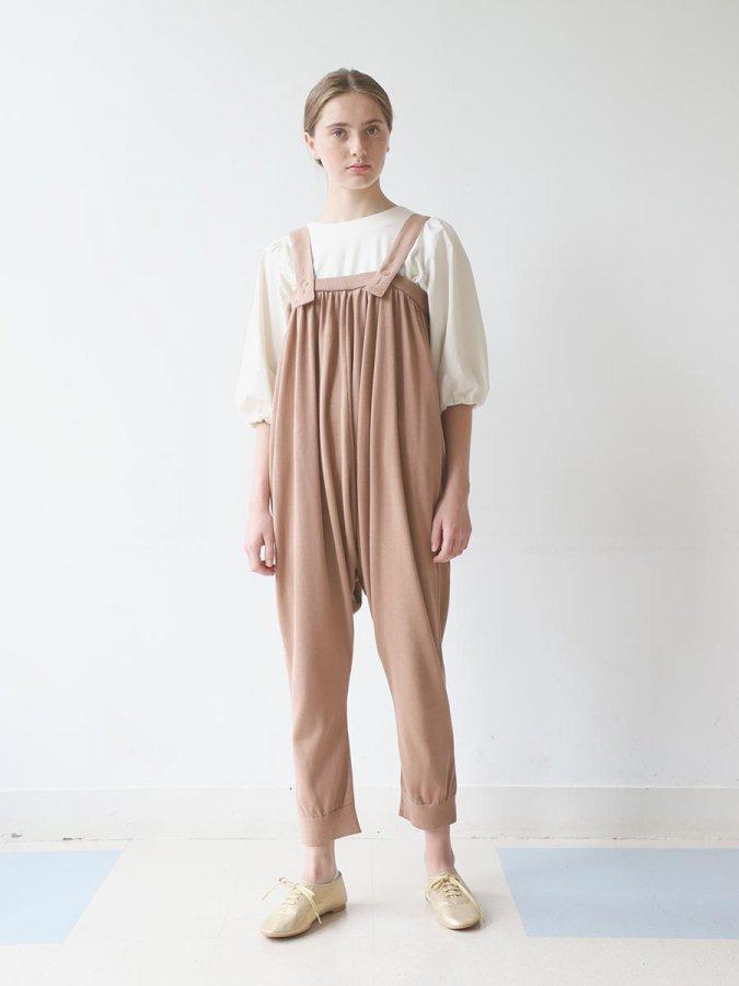 ニットサルエルサロペット(2021 Spring Collection) 1