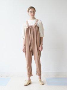 ニットサルエルサロペット(2021 Spring Collection)