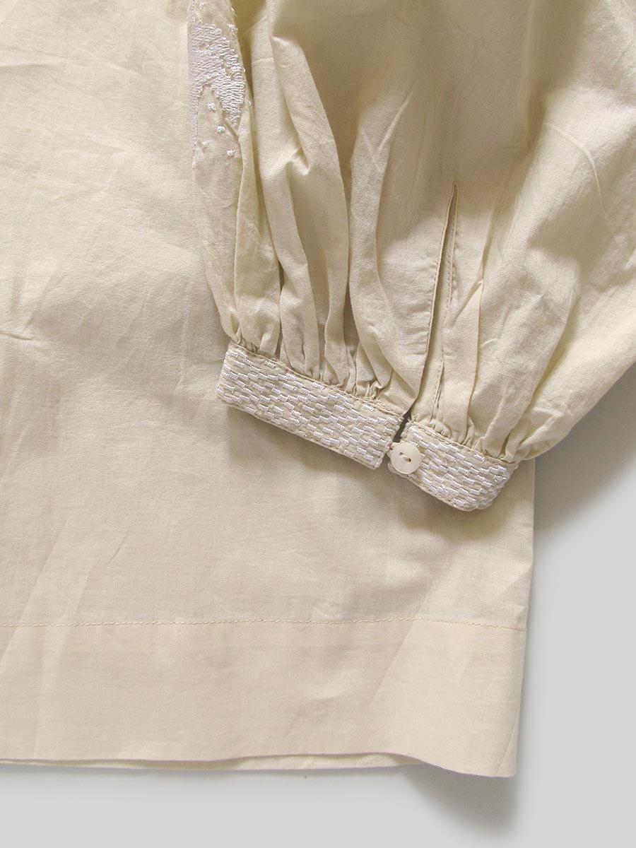 鳥の刺繍ブラウス(2020 Spring Collection) 16
