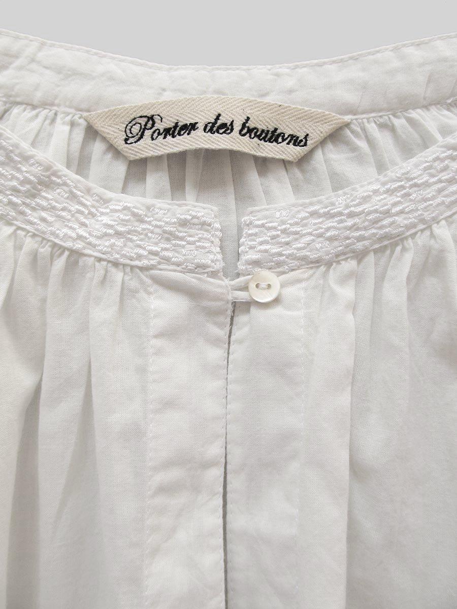 鳥の刺繍ブラウス(2020 Spring Collection) 3