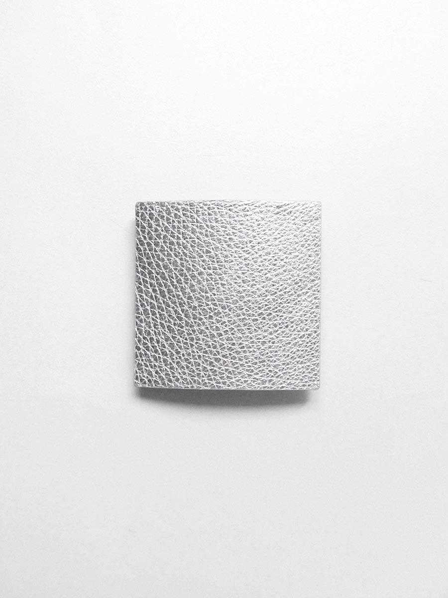 [a アー]レザーバレッタ(正方形) 8