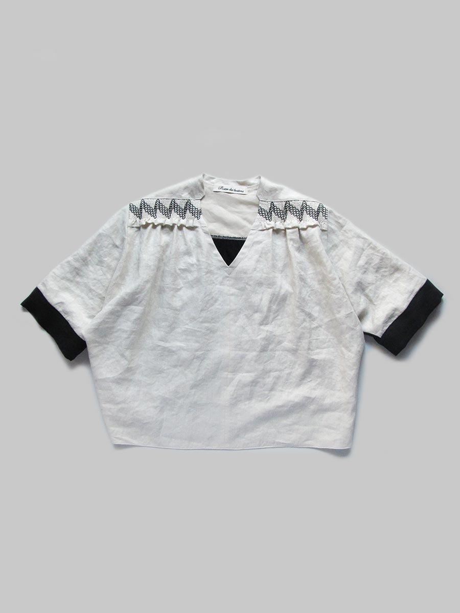 スモッキングドルマンスリーブブラウス(2021 Summer Collection) 14