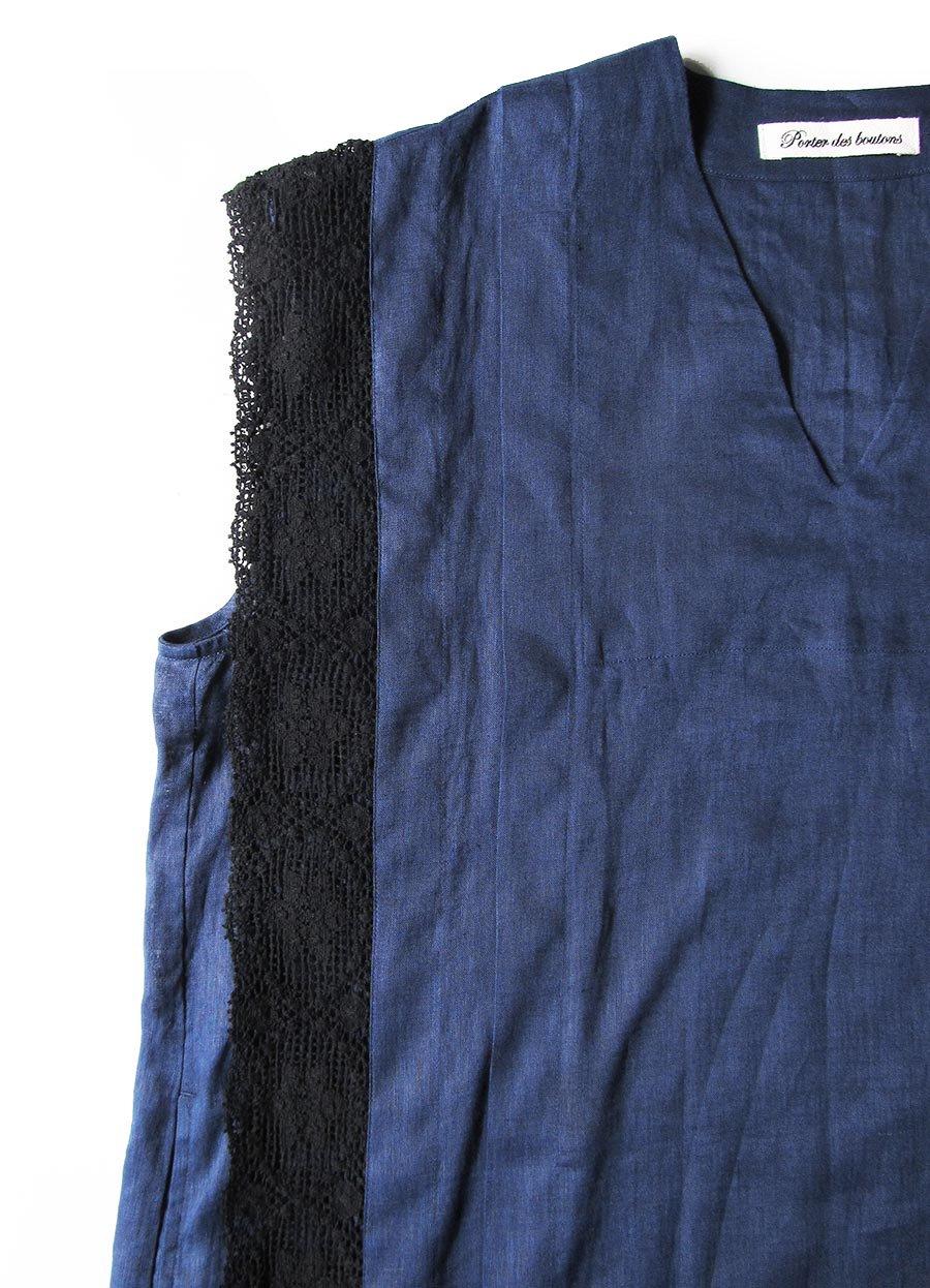 リネンサックドレス(2021 Summer Collection) 11