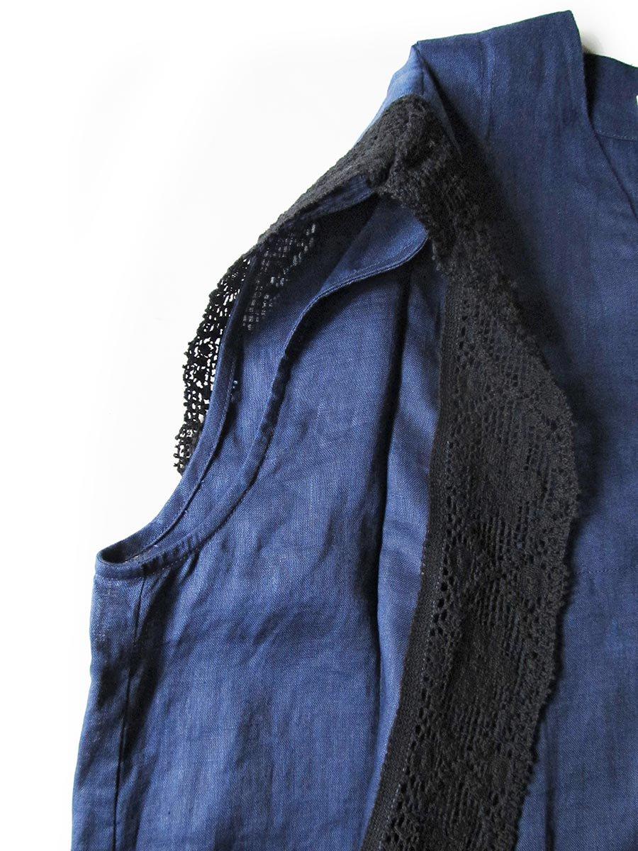 リネンサックドレス(2021 Summer Collection) 12